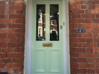 Front Door and Gate Refurbishment - The Bedford Handyman